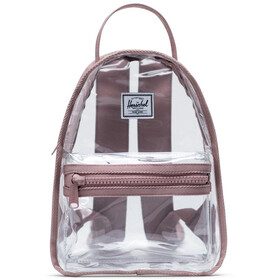 Herschel Nova Mini Sac à dos 9l, ash rose/clear